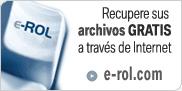Recupere sus archivos con e-Rol
