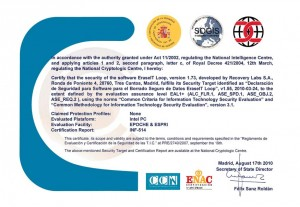common_criteria_certificate. software de borrado de datos