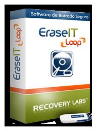 eraseit-loop. software de recuperaçao de dados. Recovery Labs