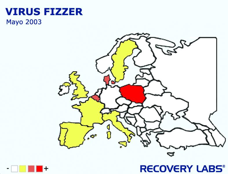 mapa virus fizzer