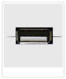 Cómo elegir el mejor disco duro. Ejemplo puerto USB para discos duros