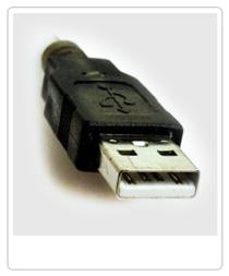 Cómo elegir el mejor disco duro. Ejemplo de conexión USB.
