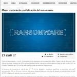 Mayor crecimiento y sofisticación del ramsonware-Newsbook.es